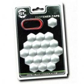 Комплект декоратичных колпачков Starleks из 20 шутк - ключ 17,  серебристый
