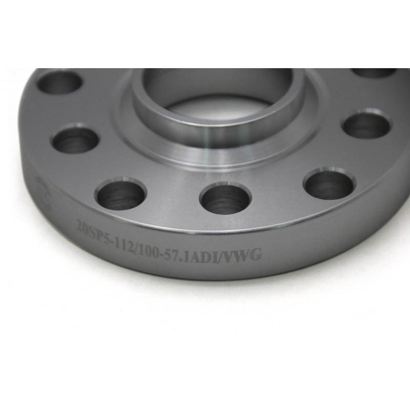 Дисковые проставки Starleks 25 мм 5х112/100-57.1 для Audi - Volkswagen - Skoda