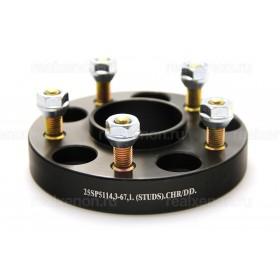 Дисковые проставки Starleks 25 мм 5х114.3-66.1(шпилька М12x1.25) для Nissan и Infiniti