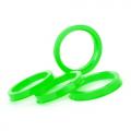 Центровочное кольцо Starleks OD:65.1 ID:57.1 GREEN