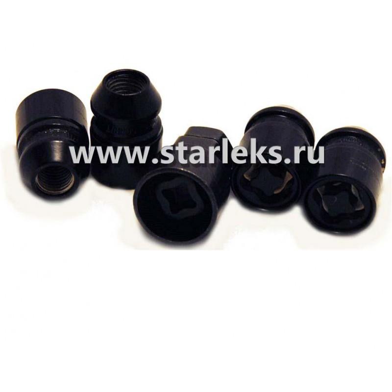 Cекретные гайки 12*1,5 закрытая, пресс-шайба L37,5 mm.