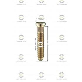 Шпилька забивная Starleks от КРЕПЕЖ КОЛЕС D=12,60mm.( 12х1.5 ).L=55mm. 12,9 для Chevrolet и Opel