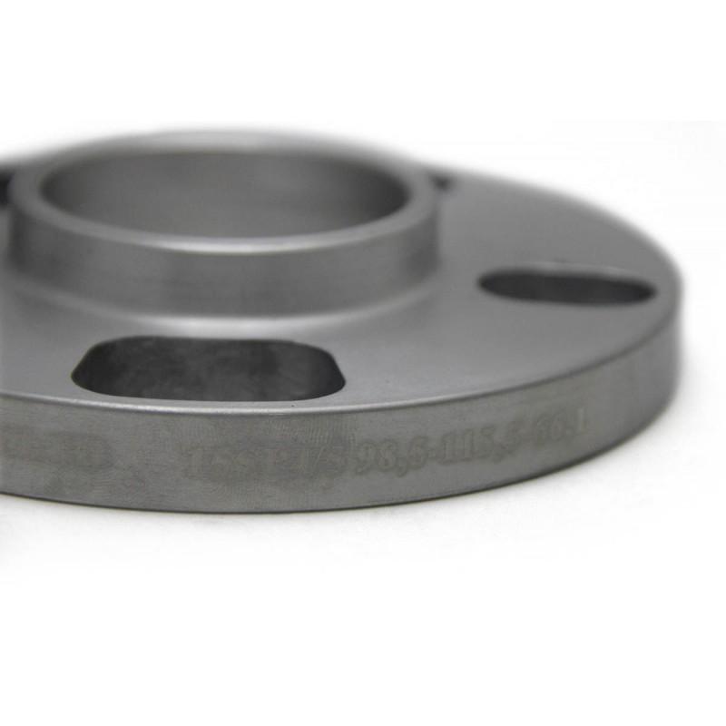 Дисковые проставки Starleks 20 мм 4/5*(98.5-115.5) -65.1 для Volvo и Saab