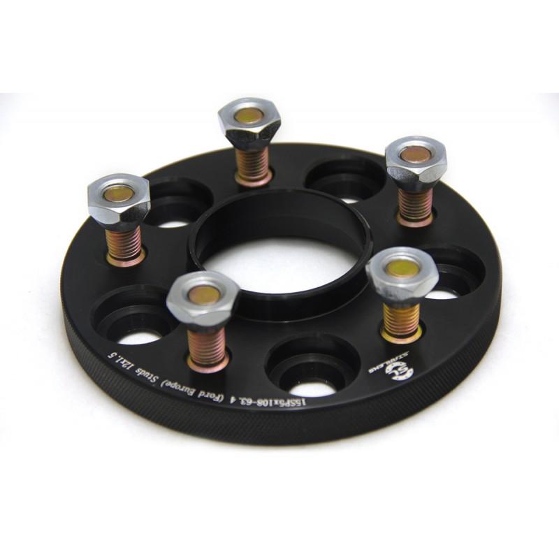 Дисковые проставки Starleks 15 мм 5х108-63.4 шпилька 12х1.5 для Ford