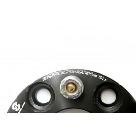 Дисковые проставки Starleks 20 мм 5х127-71.5 (шпилька 1/2) для JEEP