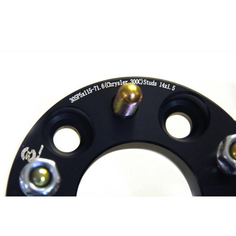 Дисковые проставки Starleks 30 мм 5x114.3-67.1 (STUD) для Mazda, Toyota, Hyundai, Kia, Ford