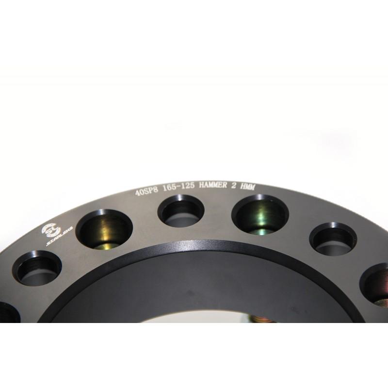 Дисковые проставки Starleks 50SP8x165-125 для HAMMER2 HMM
