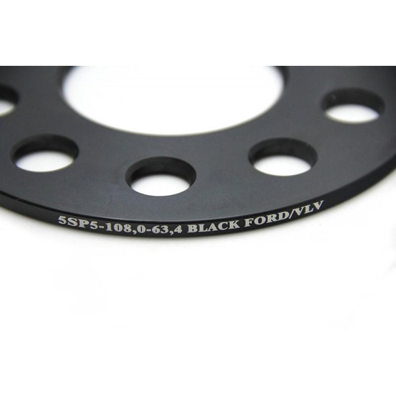 Дисковые проставки Starleks 5 мм 5х108-63.4 для Volvo и Ford