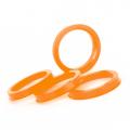 Центровочное кольцо Starleks OD:72.6 ID:67.1 ORANGE