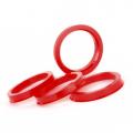 Центровочное кольцо Starleks OD:72.6 ID:65.1 DARK RED