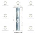 Шпилька резьбовая Starleks от КРЕПЕЖ КОЛЕС 12х1.25/12х1.25.L(1)=15mm. L(2)=60mm L(общая)=80mm. 12,9 Для ступиц c резьбой 12х1.25