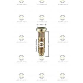 Шпилька забивная Starleks от КРЕПЕЖ КОЛЕС D=12,50mm.( 12х1.5 ).L=46mm. 12,9 для Lachetti и Aveo