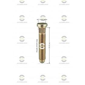 Шпилька забивная Starleks от КРЕПЕЖ КОЛЕС D=12,30mm.( 12х1.5 ).L=55mm. 12,9 для Хонда